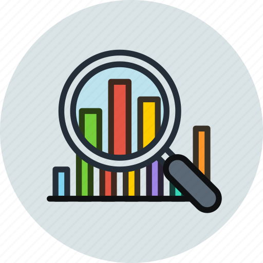 analytics, analyze, chart, data, graphic, inspect, statistics, stats icon