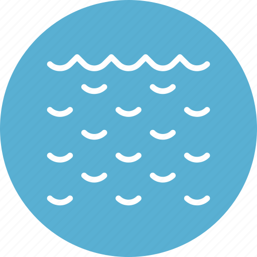 ecology, nature, ocean, river, sea, water, waves icon