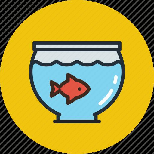 animal, aquarium, fish, nature, pet icon