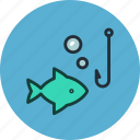 animal, fish, fishing, nature, underwater icon