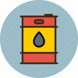 barrel, fuel, oil, petrol, petroleum icon