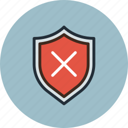 firewall, guard, protect, protection, security, shield, warning icon