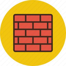brick, defense, firewall, protection, security, wall icon