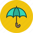 defense, protection, security, umbrella icon