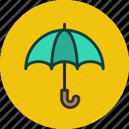 defense, protection, security, umbrella icon