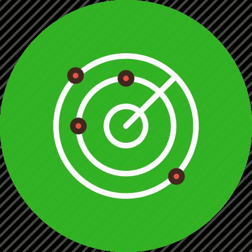 locate, locator, radar, scan, scanning icon