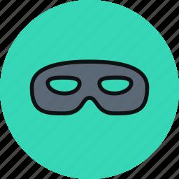 incognito, mask, privacy, secrecy icon