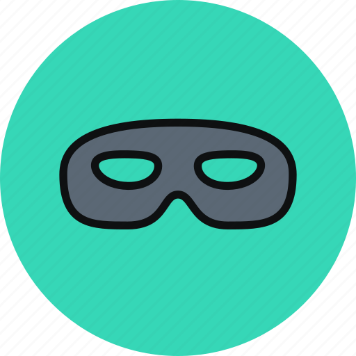 incognito, mask, privacy, secrecy icon