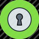 hole, password, keyhole, secure, key