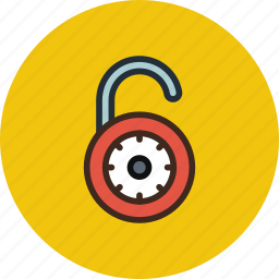 lock, padlock, password, private, protection, secure, unlock icon