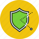 firewall, guard, protect, protection, secure, security, shield icon
