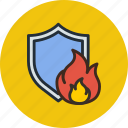 antivirus, fire, firewall, protection, security, shield