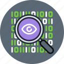 data, encryption, find, inspect, private, search, spy