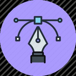 acnhor, design, illustration, pen, tool icon