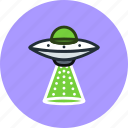 abduction, alien, extraterrestrial, ship, space, transport, ufo icon