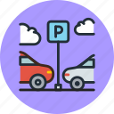 car, parking, transport, vehicle icon