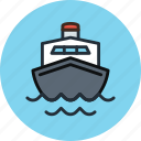 boat, cruise, marine, ocean, sea, ship, transport, travel icon