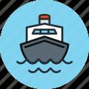 travel, boat, sea, cruise, ship, transport