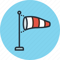 airflow, anemometer, direction, forecast, weather, wind icon
