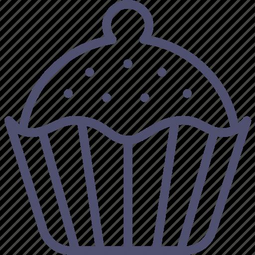 baking, brownie, cake, cupcake, food, sweet icon