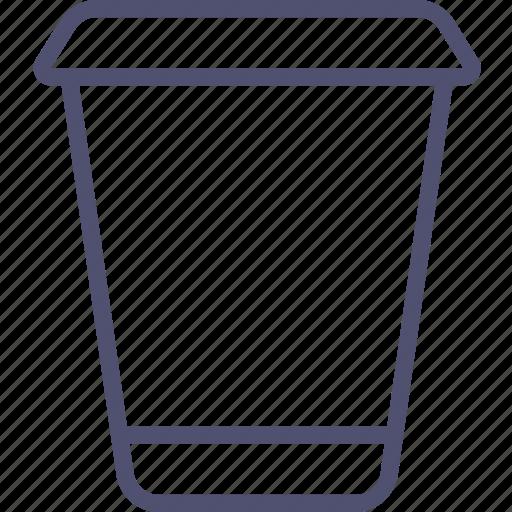 coffee, drink, food, glass, hot, plastic, takeaway, tea icon