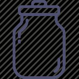 can, kitchen, milk, water icon