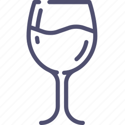 drink, food, glass, goblet, wineglass icon