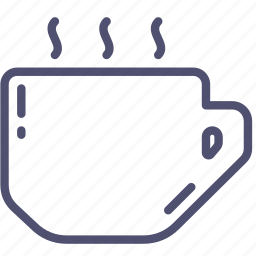 coffee, cup, drink, hot, kitchen, tableware, tea, water icon