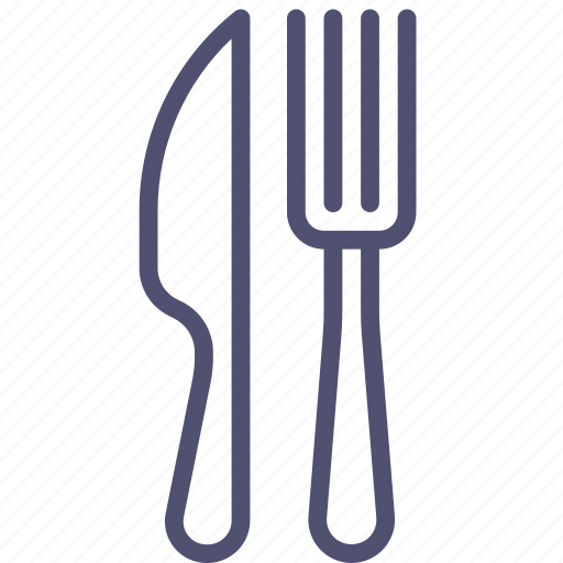 breakfast, cafe, canteen, dinner, food, fork, knife, lunch, restaurant icon