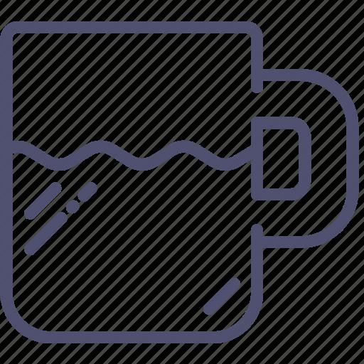 cup, drink, kitchen, mug, tableware icon