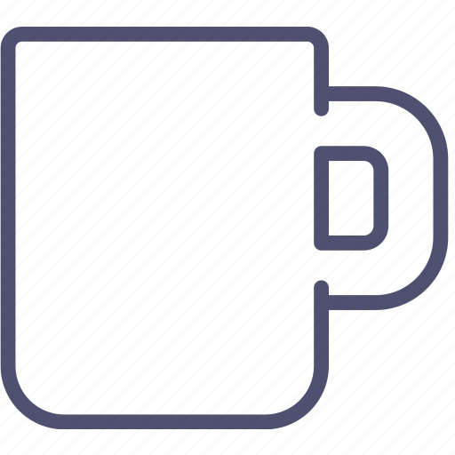 cup, empty, kitchen, mug, tableware icon
