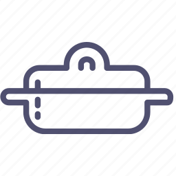 cap, kitchen, pan, stewpan, stewpot, tableware icon