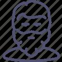 avatar, beard, guy, man, user