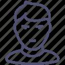 boy, child, teenager, avatar icon