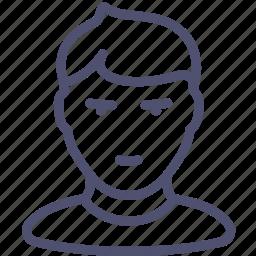 avatar, boy, child, human, teenager icon