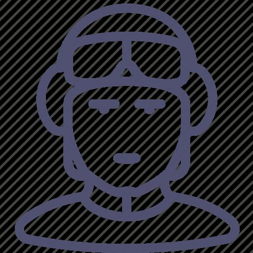 avatar, driver, human, pilot, soldier, tanker icon