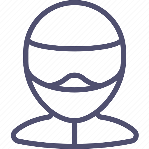 avatar, biker, helmet, human, motorcyclist icon
