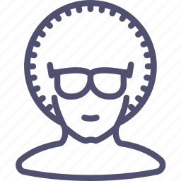 avatar, dancer, disco, glasses, human icon