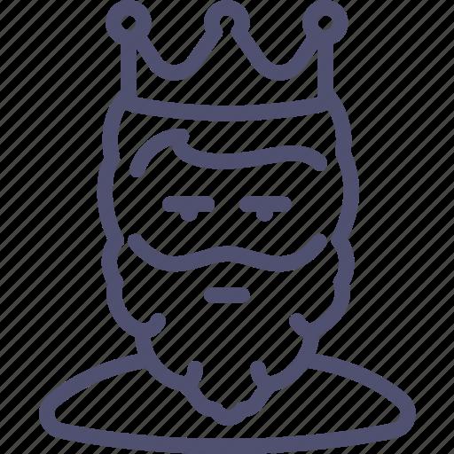 avatar, beard, cesar, guy, human, king, man, monarch, tsar, user icon