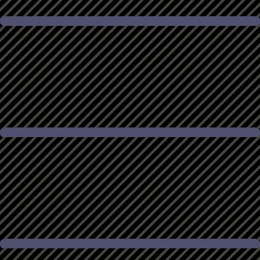 hamburger, layout, menu icon