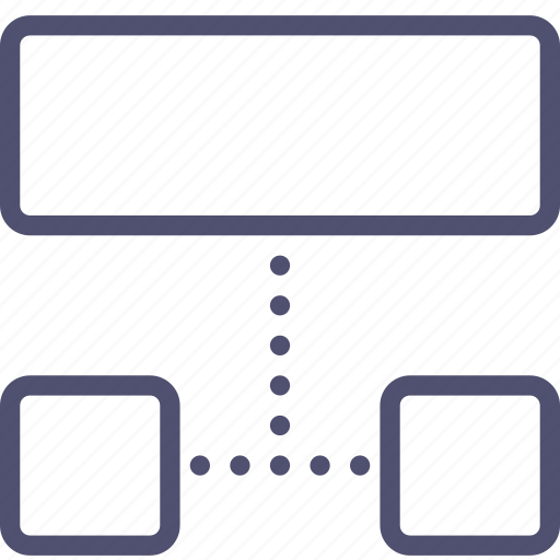 Sitemap List: Grid, Layout, List, Sitemap, Structure, Wireframe Icon