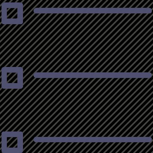 layout, list, menu icon