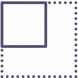 expand, layout icon