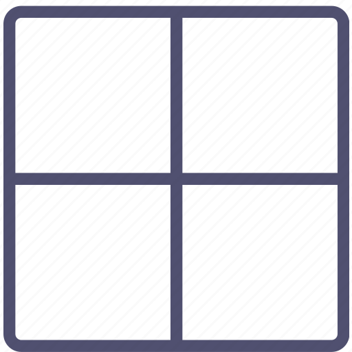 grid, layout icon