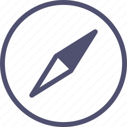compass, location, map, navigate, navigation icon