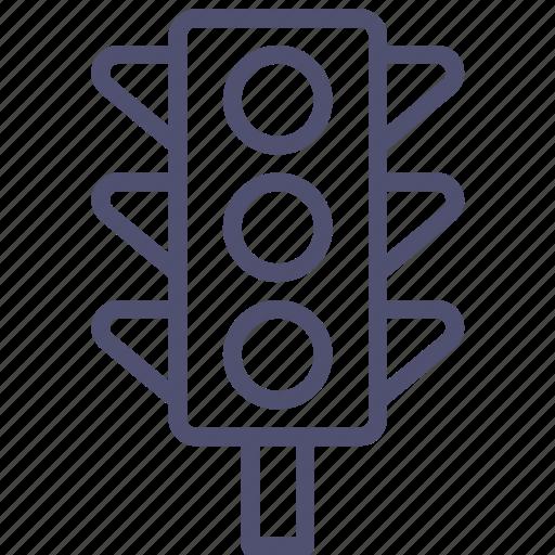 lights, road, traffic, transport icon