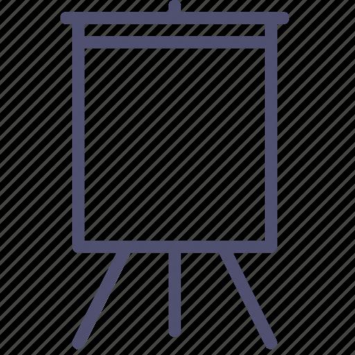 art, board, deck, easel, presentation, promo, stand icon