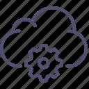 cloud, data, settings, storage