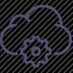 cloud, data, settings, storage icon