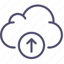 cloud, data, storage, upload